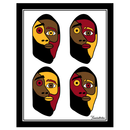 The Bearded Picasso Sticker