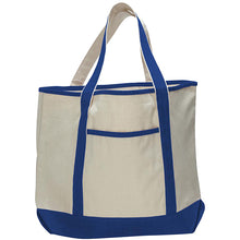 Large Canvas Deluxe Tote