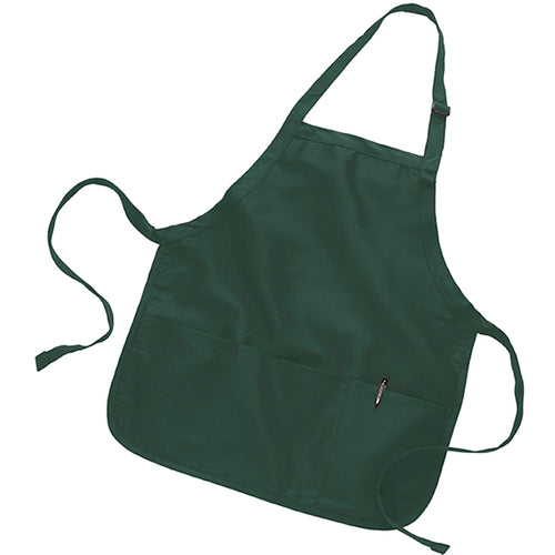 Full-Lenght Apron with Pouch