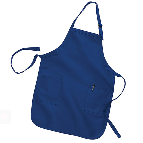 Full-Lenght Apron with Pockets