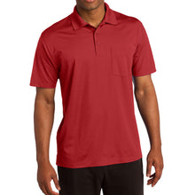 Sport-Tek Micropique Sport-Wick Pocket Polo