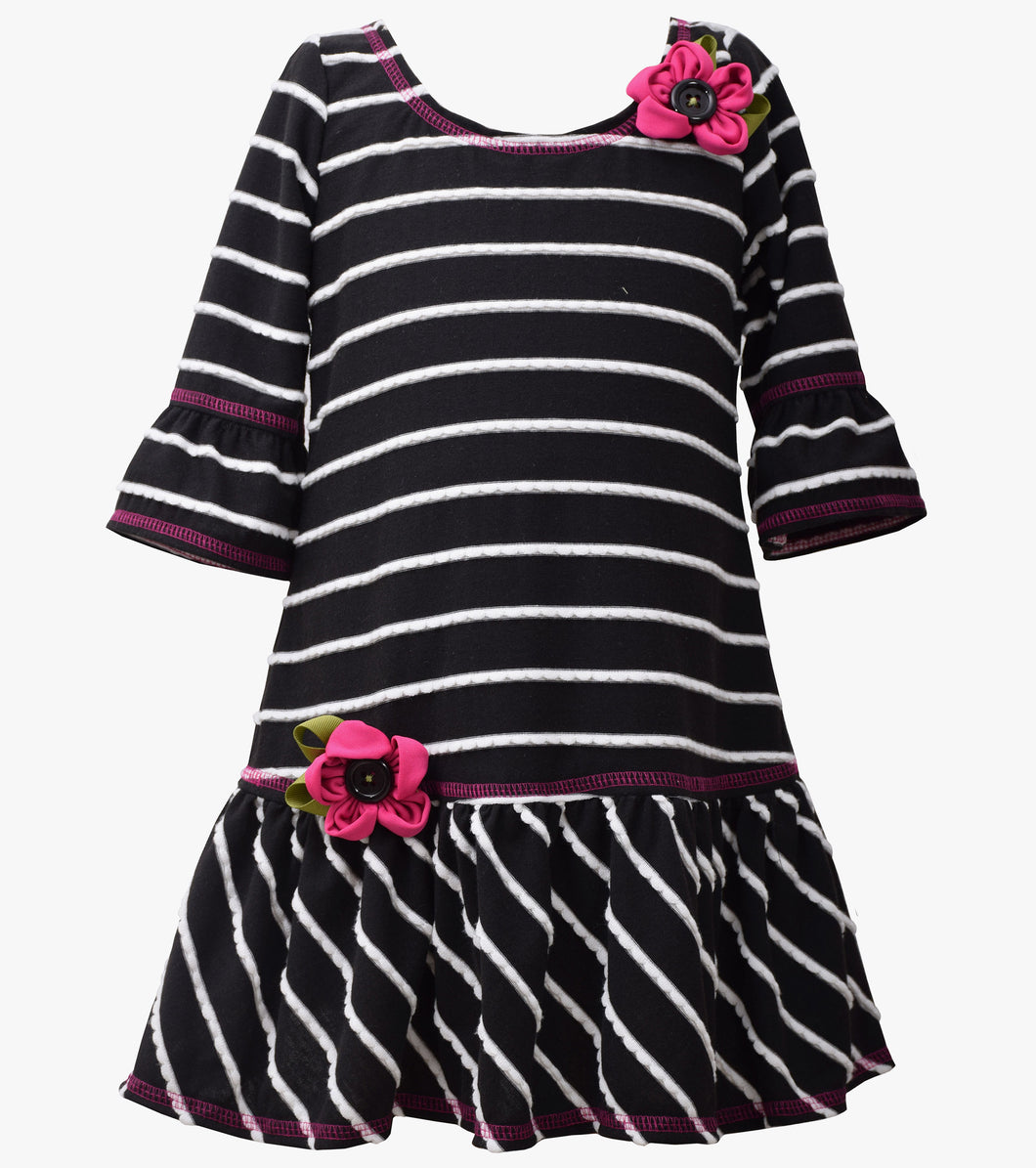 Bonnie Jean stripe dress