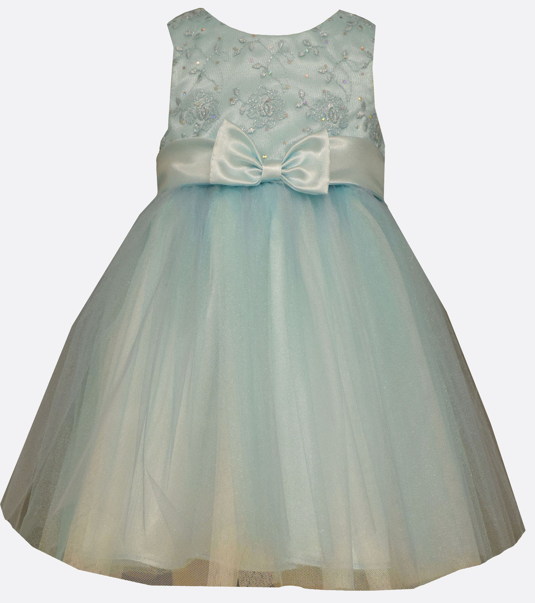 Bonnie Jean Turquoise Ballerina Dress