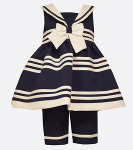 Bonnie Jean Sailor Pant Set