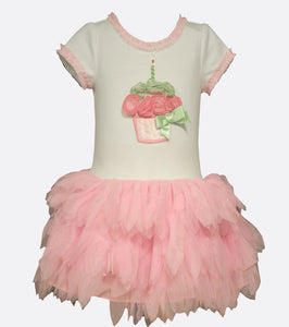 Bonnie Jean Cupcake Tutu Birthday Dress