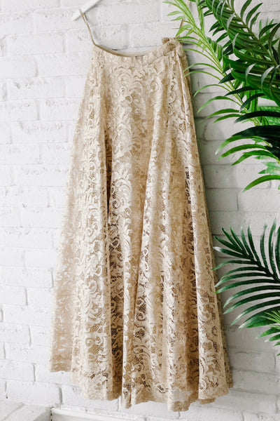 Grace Skirt - Gold