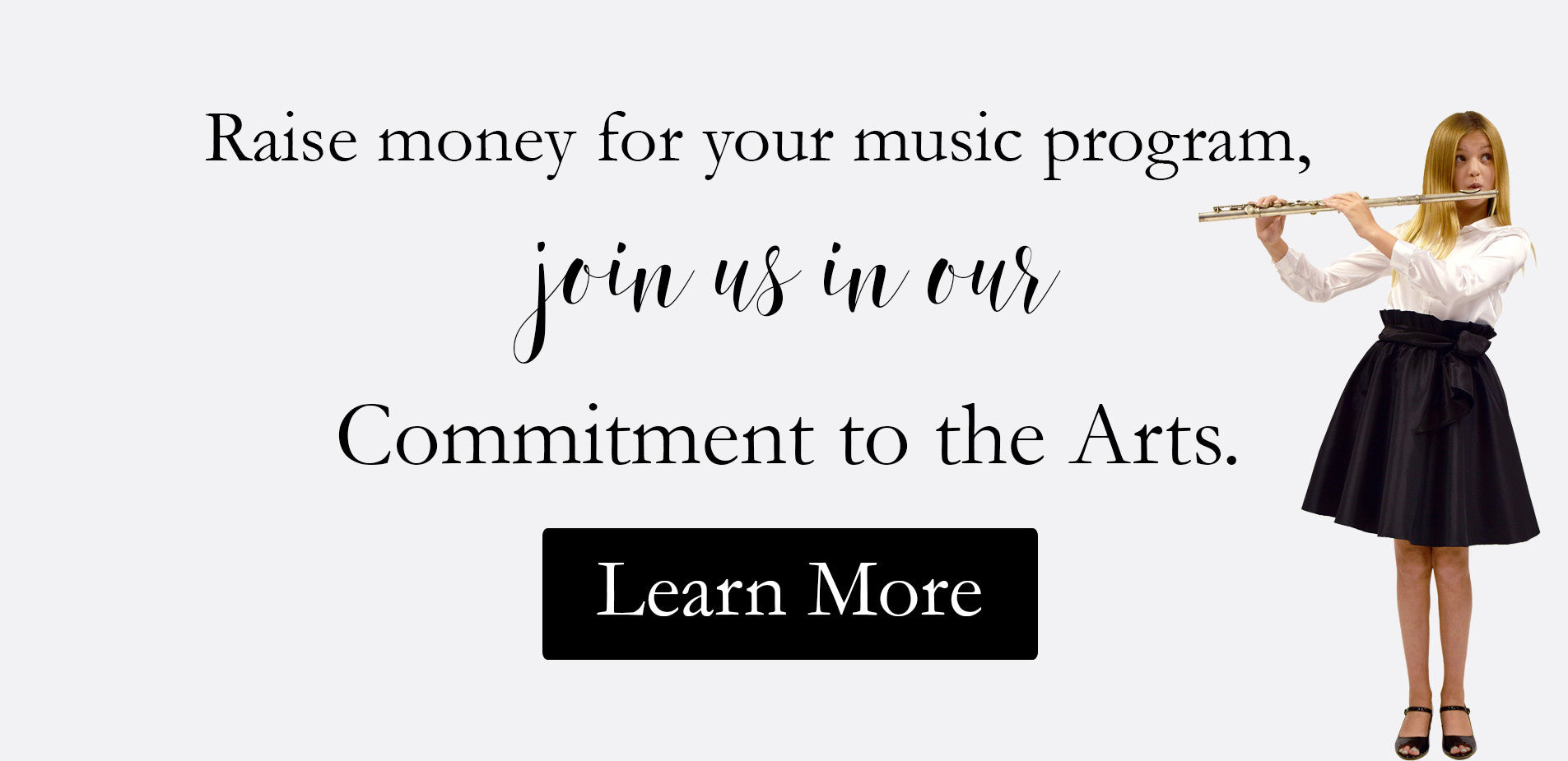 Music Matters. Commitment to the arts program.