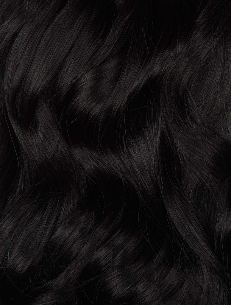 "Jet Black (1) 22"" 100g - Weave Weft- ON BACKORDER"