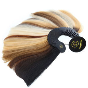 Semi-Permanent Extensions Color Wheel