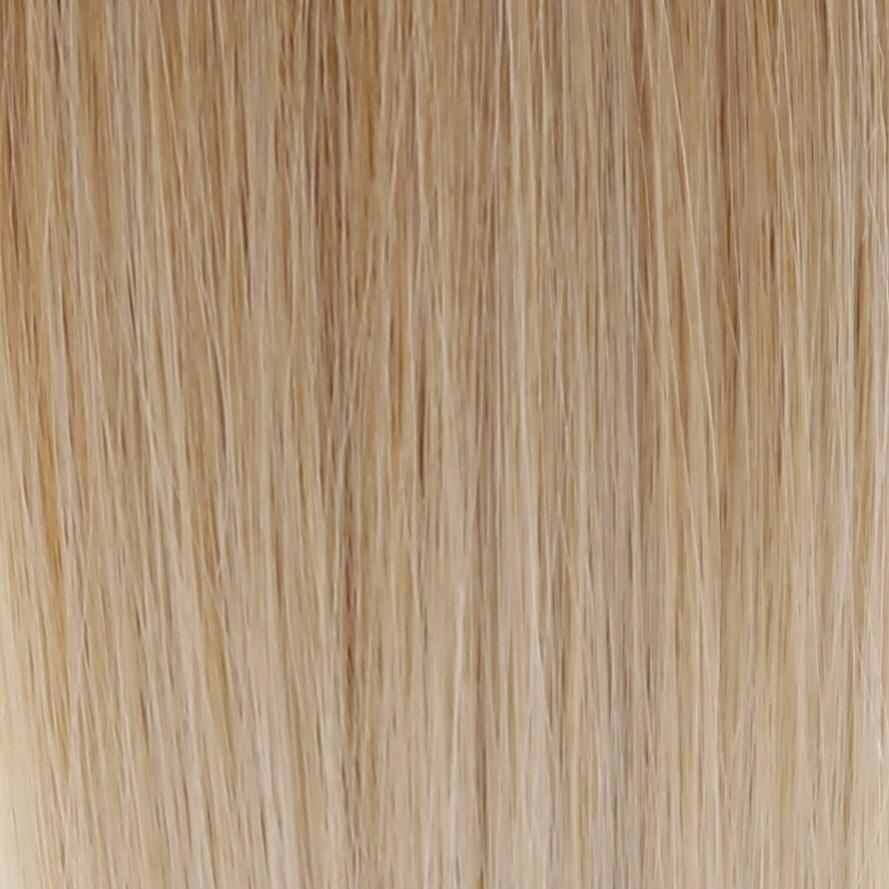 "Ombre - Ash Brown (#9) to White Blonde (#60B) 20"" Keratin Tip"
