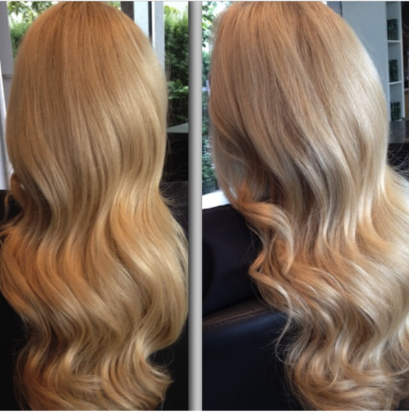 "Golden Blonde (22) 20"" Tape Extensions"