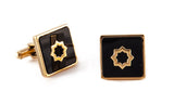 Gold Cuadrado Cufflinks