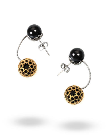 Black First Temptation Earrings