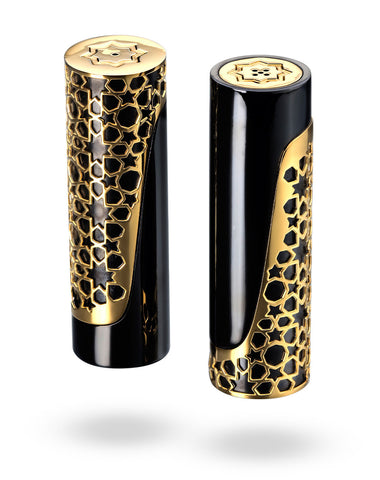 Gold Arabesque Salt & Pepper