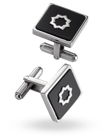 Stainless Steel Cuadrado Cufflinks