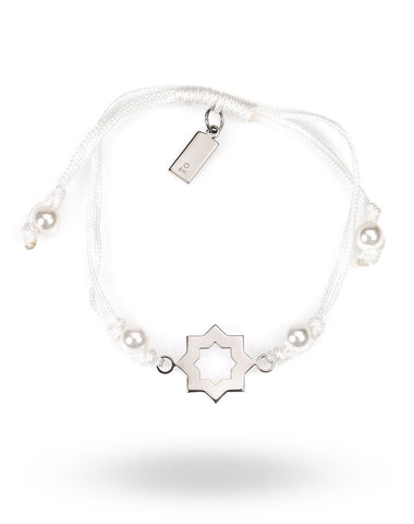 Abraham Shield String Bracelet