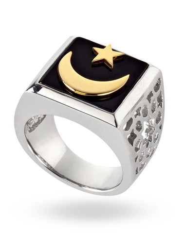 Stainless Steel Magic Carpet Ring