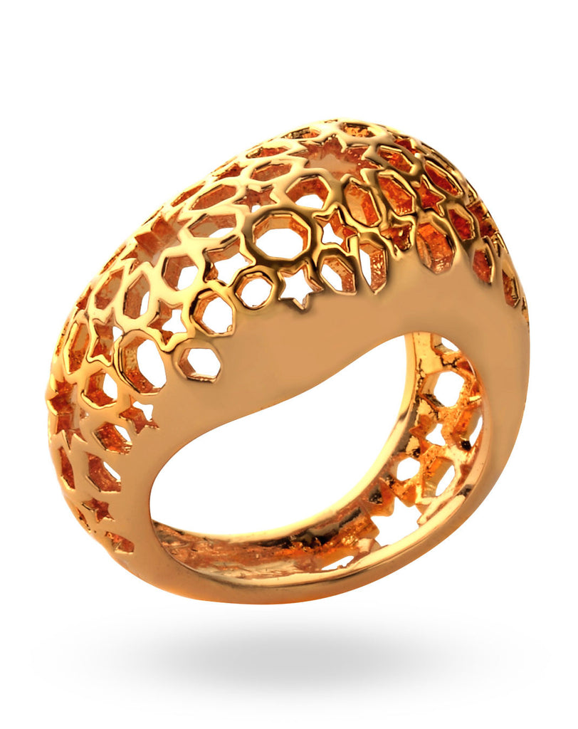 Gold Bombai Ring
