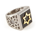 Agate David Star Ring