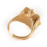 Gold & Black Abraham David Ring