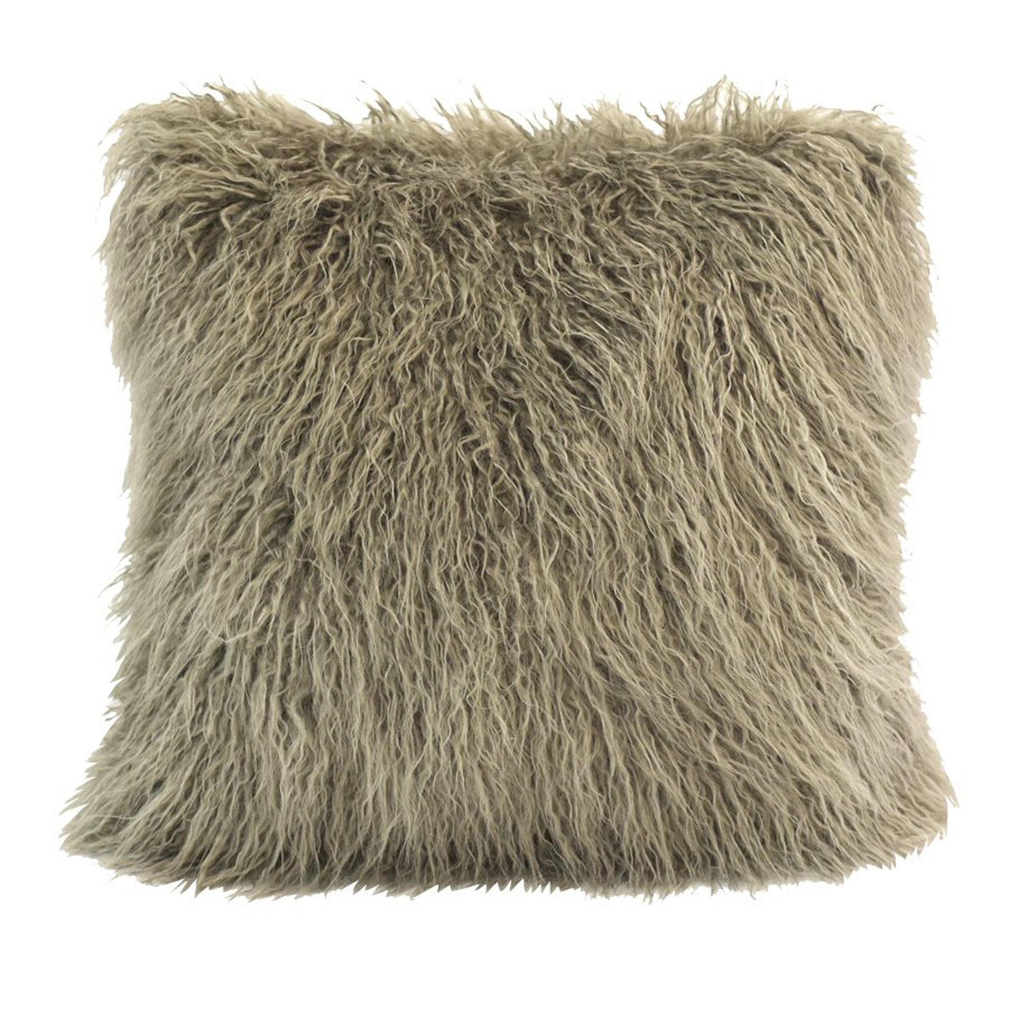 pillow rfellen raccoon aus waschb pelzkissen paustian furs from kanadischen lars made fur