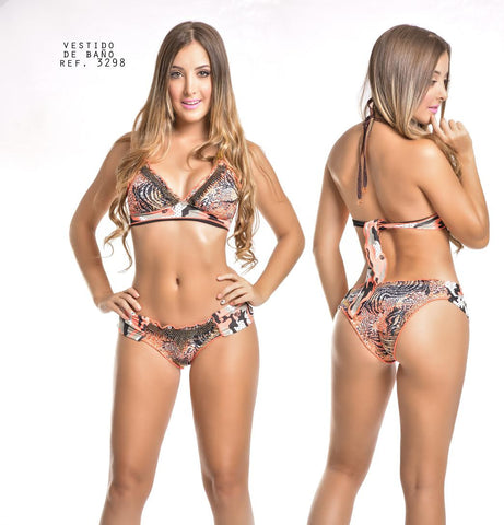Pink Tiger Cocoa Swimwear
