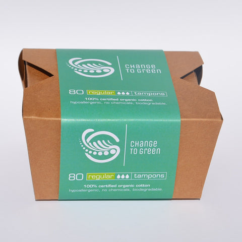Tampon Box - 80 regular or mixed