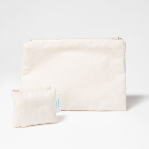 The Change to Green Bag and Pocket, Natural White