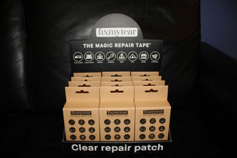 fixmytear 1ft repair kit x 24 with POS display