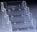 BUSINESS CARD HOLDERS 4 BAY MIN ORDER 10(excl vat)