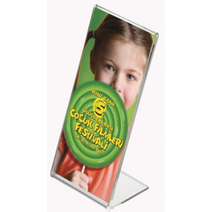 FREE STANDING L SHAPED MENU HOLDERS (excl vat) 20 MINIMUM ORDER