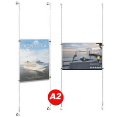 POSTER HOLDER CABLE DISPLAY A2 KIT(ex Vat)