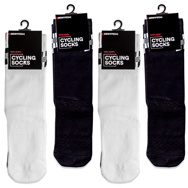 Onyx/Blanco Socks 4 Pack Mix