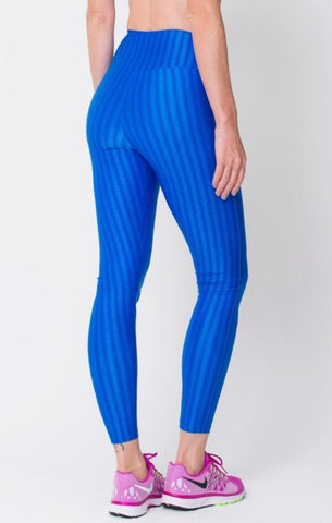 Royal 3D Disco Leggings