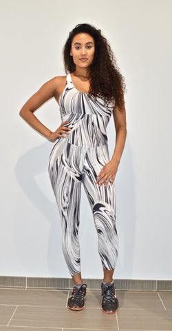 Black Magic Contrast Jumpsuit
