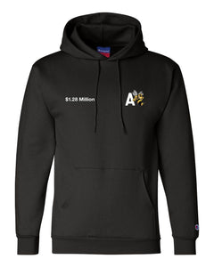 PRESALE : A-Bee Embroidered Hoody (black)