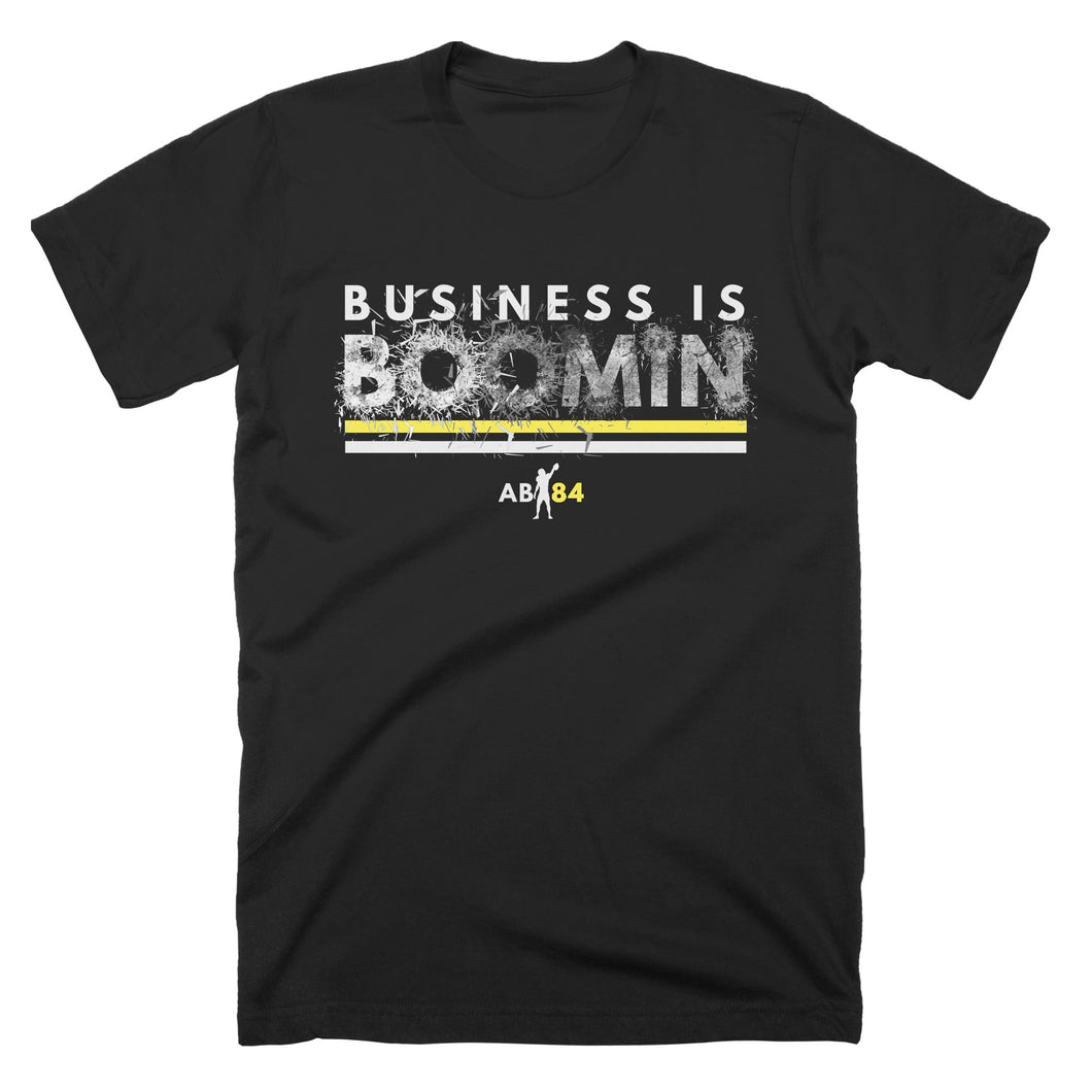 PRESALE : Adult Business is Boomin Shatter T-Shirt (black)
