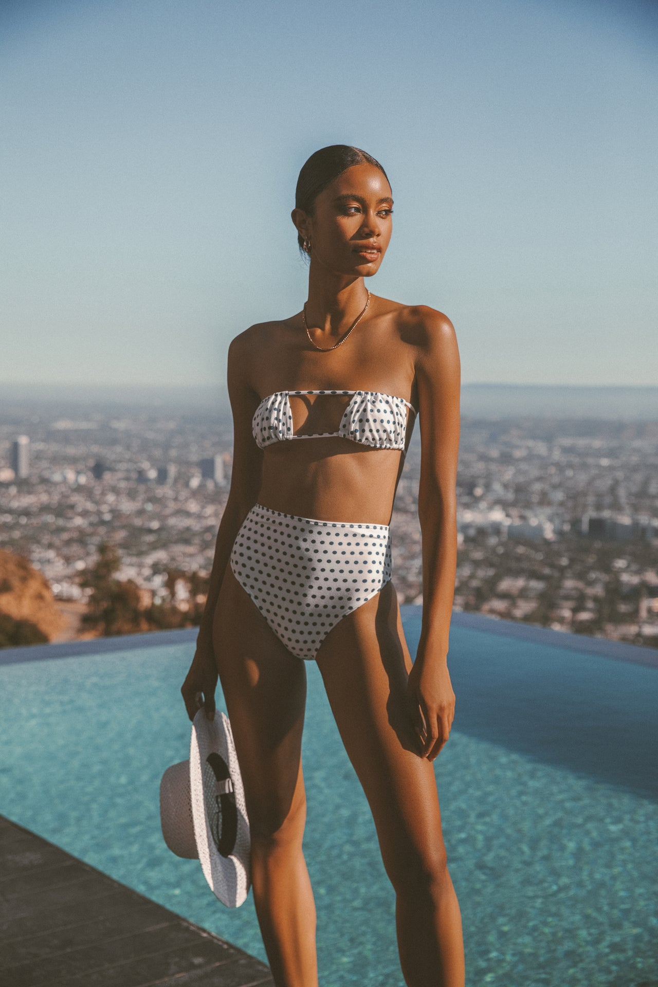 LOLA HIGHWASITED SWIM - Lurelly