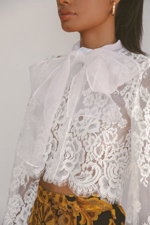GRACE LACE BLOUSE (LIMITED EDITION) Thumbnail - Lurelly