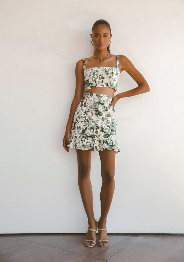 LUCKY LINEN TOP - Lurelly