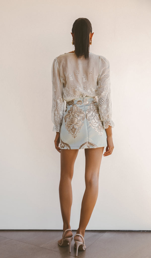 ATHENA MINI SKIRT - Lurelly