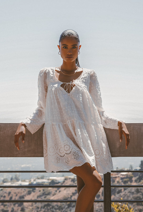 DAHLIA SILK DRESS - Lurelly