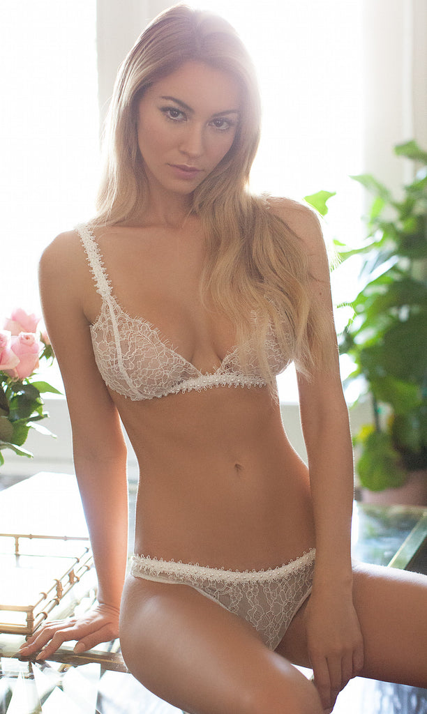 ROSE BRA SET