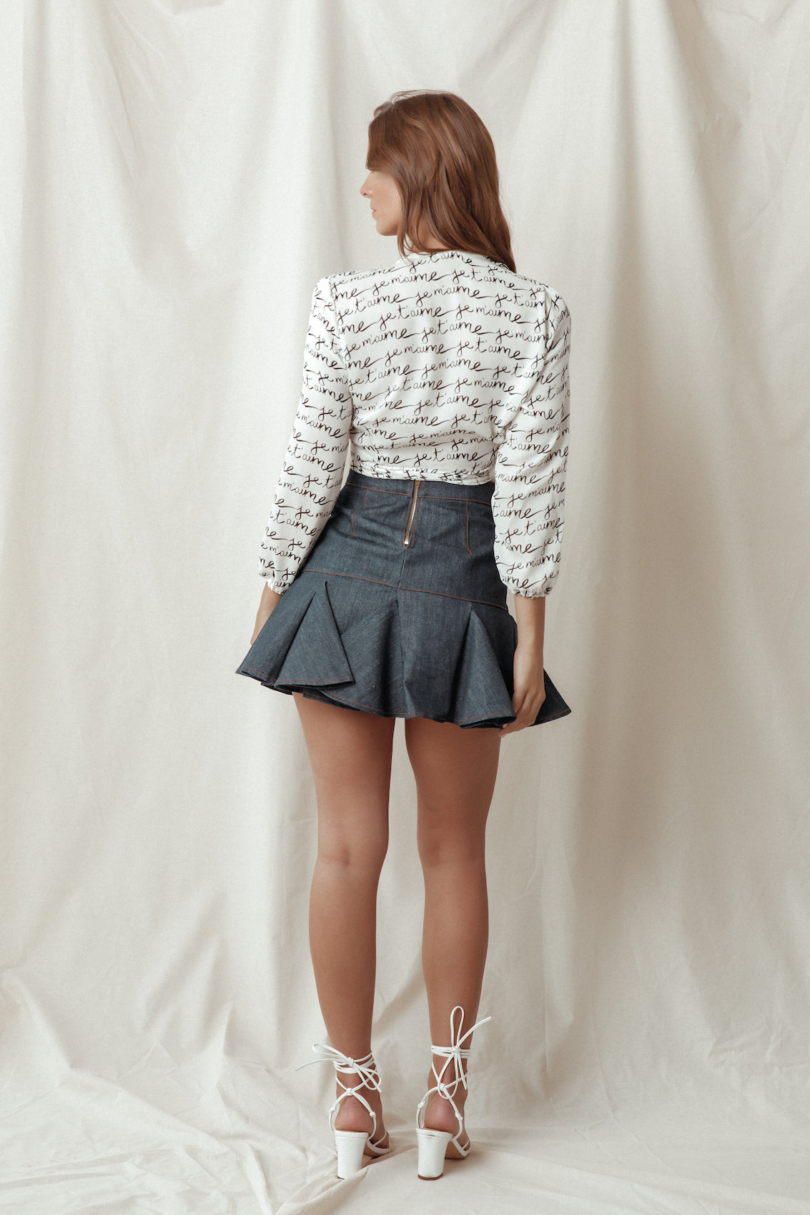 JE T'AIME SILK BLOUSE (LIMITED) - Lurelly