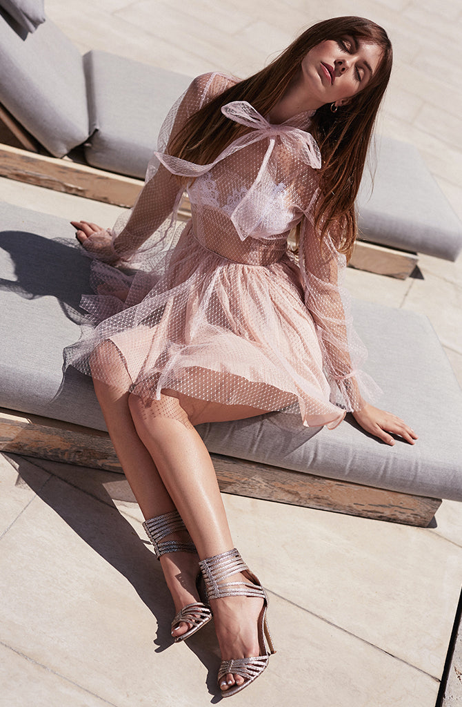 PARIS TULLE DRESS