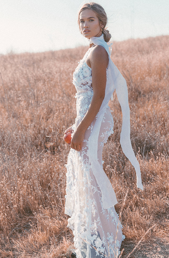 BLOOMING FLOWER GOWN