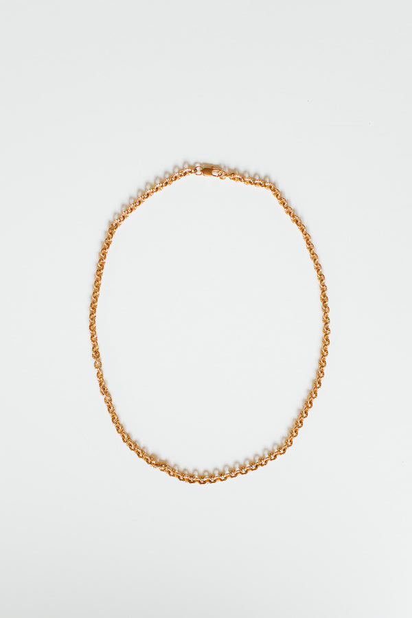 LACY GOLD NECKLACE - Lurelly