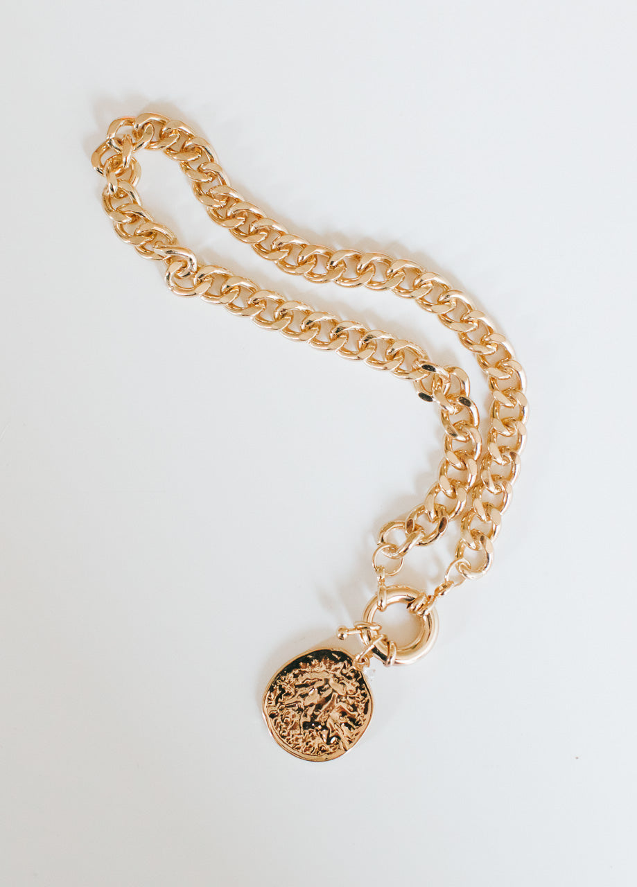 MEDALLION NECKLACE - Lurelly