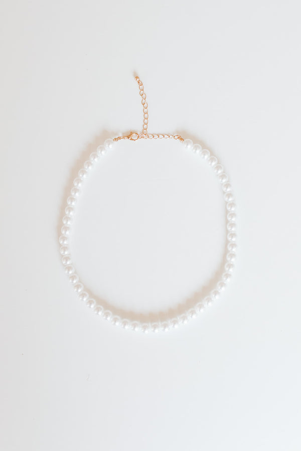 LILY PEARL NECKLACE - Lurelly