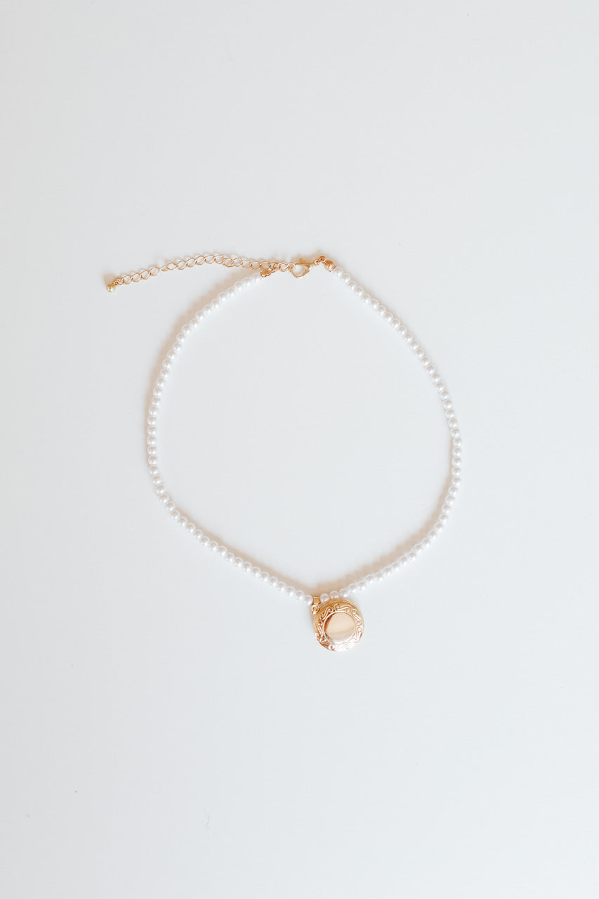 PEARL PARADISE LOCKET - Lurelly